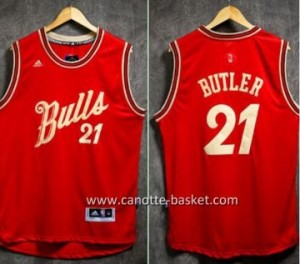 Maglie nba 2015-2016 Natale Chicago Bulls Jimmy Butler #21
