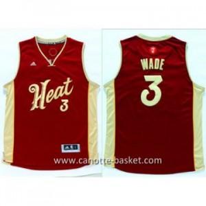 Maglie nba 2015-2016 Natale Miami Heat Dwyane Wade #3