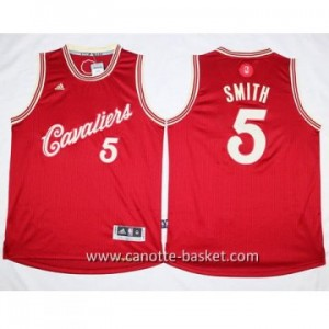 Maglie nba 2015-2016 Natale Cleveland Cavalier J.R. Smith #5
