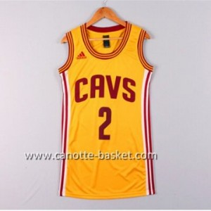 Maglie nba Donna Cleveland Cavaliers Kyrie Irving #2 giallo