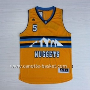 Maglie nba Denver Nuggets Nate Robinson #5 giallo