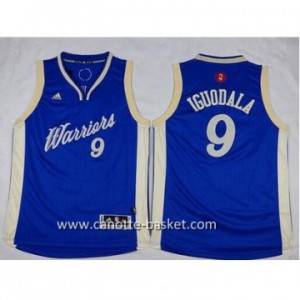 Maglie nba bambino Golden State Warriors Andre Iguodala #9 Christmas Edition