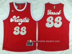 Maglie nba 2015-2016 Natale Memphis Grizzlies Marc Gasol #33