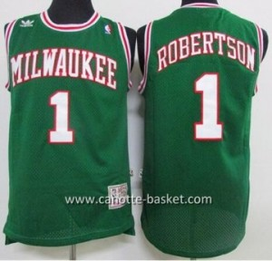 Maglie nba Milwaukee Bucks Oscar Robertson #1 verde
