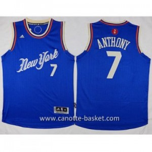 Maglie nba 2015-2016 Natale New York Knicks Carmelo Anthony #7