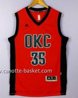 Maglie nba Oklahoma City Thunde Kevin Durant #35 rosso