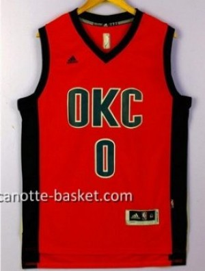 Maglie nba Oklahoma City Thunde Russell Westbrook #0 rosso