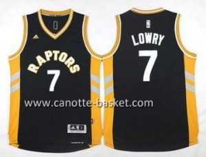 Maglie nba Toronto Raptors Kyle Lowry #7 nero