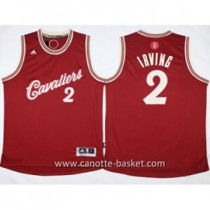 Maglie nba bambino Cleveland Cavalier Kyrie Irving #2 rosso