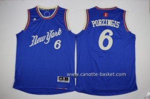 Maglie nba bambino New York Knicks Tyson Chandler #6 blu