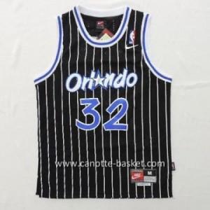 maglia nba bambino Orlando Magic Shaquille O'Neal #32 nero