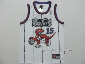 Maglie nba bambino Toronto Raptors Anthony Bennett #15 bianco