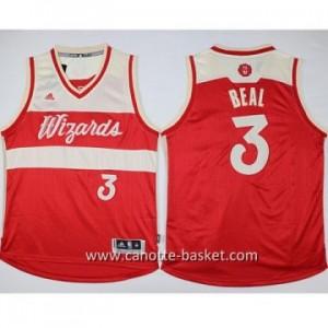 Maglie nba bambino Washington Wizards Bradley Beal #3 rosso