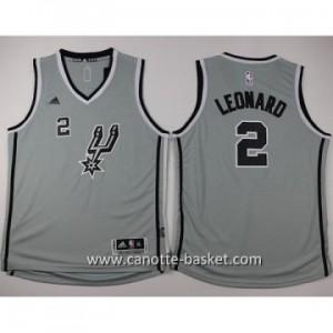 Maglie nba bambino San Antonio Spurs Kawhi Leonard #2 grigio