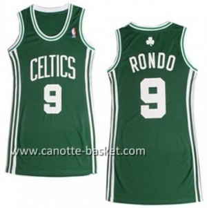 Maglie nba Donna Boston Celtics Rajon Rondo #9 verde