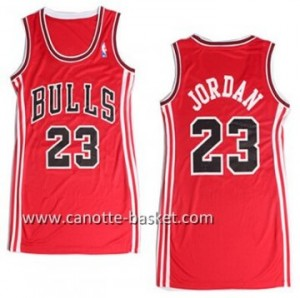 Maglie nba Donna Chicago Bulls Michael Jordan #23 rosso