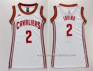 Maglie nba Donna Cleveland Cavaliers Kyrie Irving #2 bianco