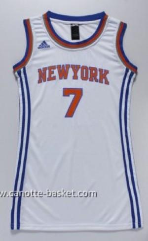 Maglie nba Donna New York Knicks Carmelo Anthony #7 bianco