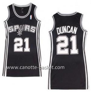 Maglie nba Donna San Antonio Spurs Tim Duncan #21 nero