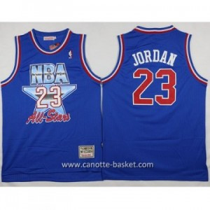Maglie 1993 All-Star Michael Jordan #23 blu