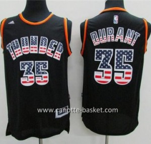 Maglie nba Oklahoma City Thunder Kevin Durant  # 35 Flag Edition