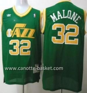 Maglie nba Utah Jazz Karl Malone #32 verde