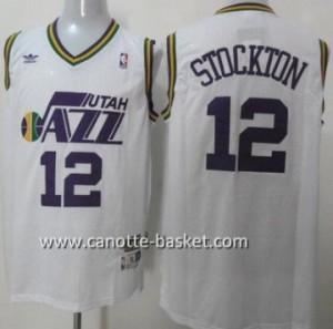 Maglie nba Utah Jazz John Stockton #12 bianco