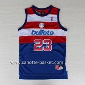 Maglie nba Washington Wizards Michael Jordan #23 blu