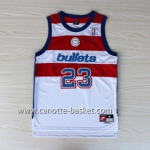 Maglie nba Washington Wizards Michael Jordan #23 bianco