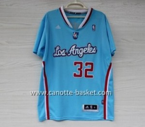 Maglie nba Los Angeles Clippers Blake Griffin #32 blu manica lunga