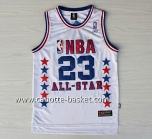 Maglie 2003 All-Star Michael Jordan #23 bianco