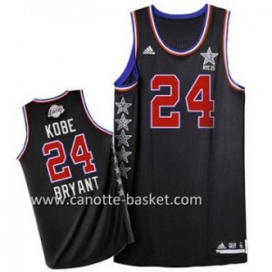 Maglie 2015 All-Star Kobe Bryant #24 nero