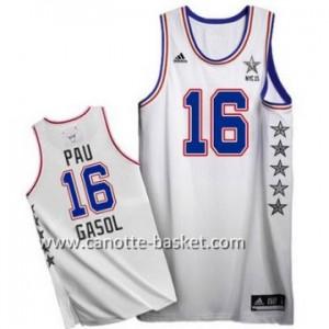 Maglie 2015 All-Star Pau Gasol #16 bianco
