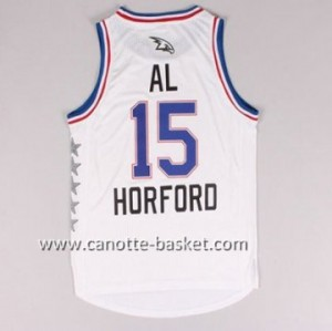 Maglie 2015 All-Star Al Horford #15 bianco
