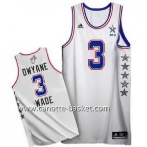 Maglie 2015 All-Star Dwyane Wade #3 bianco