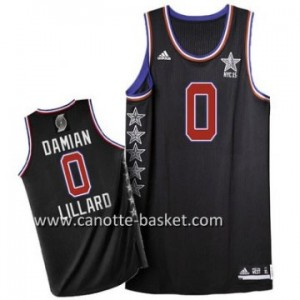Maglie 2015 All-Star Damian Lillard #0 nero