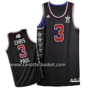 Maglie 2015 All-Star Chris Paul #3 nero