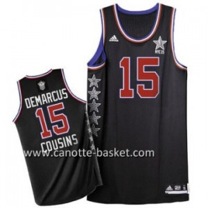Maglie 2015 All-Star DeMarcus Cousins #15 nero