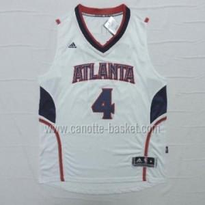Maglie nba Atlanta Hawks Spud Webb #4 bianco 14-15 stagione