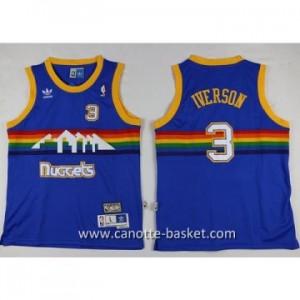 Maglie nba bambino Denver Nuggets Ty Lawson #3 blu