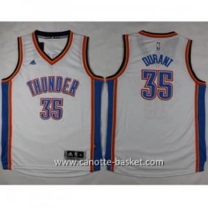 Maglie nba bambino Oklahoma City Thunde Kevin Durant #35 bianco