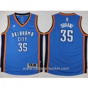 Maglie nba bambino Oklahoma City Thunde Kevin Durant #35 blu