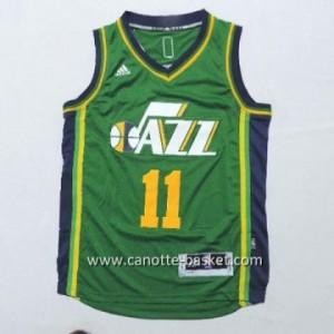 Maglie nba bambino Utah Jazz Dante Exum #11 verde