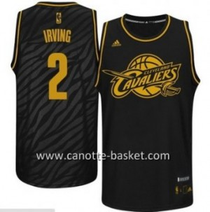 Maglie nba Black Fashion Cleveland Cavalier Kyrie Irving #2