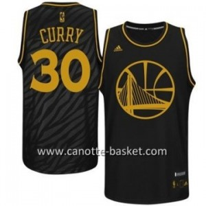 Maglie nba Black Fashion Golden State Warriors Stephen Curry #30