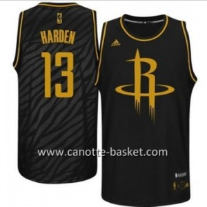 Maglie nba Black Fashion Houston Rockets James Harden #13