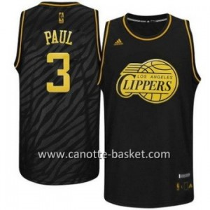 Maglie nba Black Fashion Los Angeles Clippers Chris Paul #3