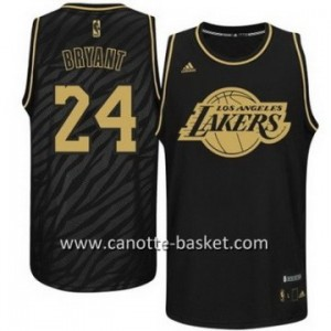 Maglie nba Black Fashion Los Angeles Lakers Kobe Bryant #24