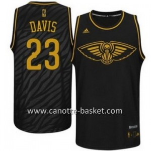 Maglie nba Black Fashion New Orleans Pelicans DAVIS #23