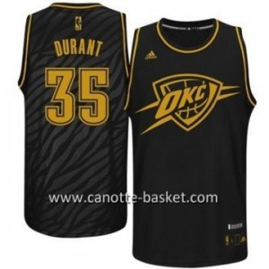 Maglie nba Black Fashion Oklahoma City Thunde Kevin Durant #35